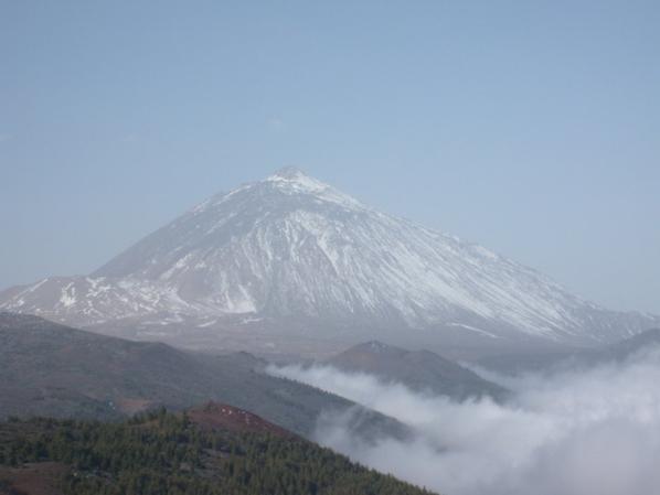 TEIDE (volcan)600.000 ans/ 3718 Métres
