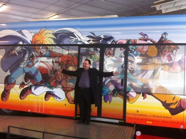 Patrick Sobral (dessinateur de Mangas ) limougeaud