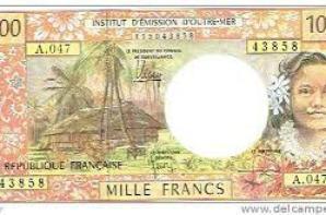 monnaies wallis franc pacifique
