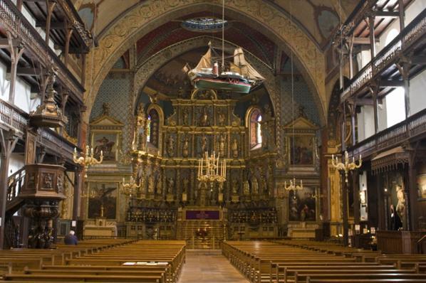 Eglise ST jean Batiste (mariage de Louis XIV 1660)