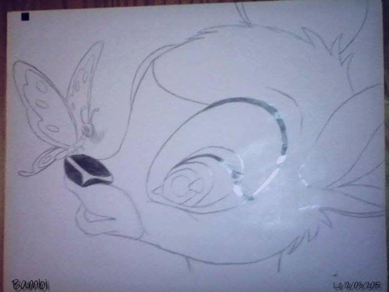 Quelque petit dessin .. #Spirit #Bambi