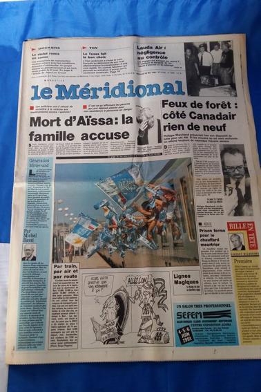 """divers journaux vintage """"l'équipe"""" ,"""" le méridional"""", la"""" gazzetta dello sport"""".parti 1"""