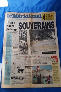 """divers journaux vintage """"l'équipe"""" ,"""" le méridional"""", la"""" gazzetta dello sport"""".partie 2"""