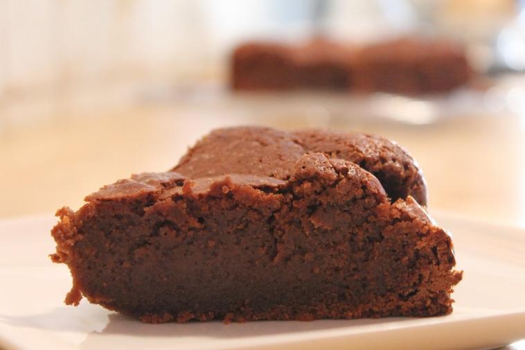 Gâteau tout moelleux au chocolat et crème de marrons