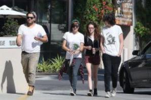 Kristen & ses amis dans les rues de Los Angeles - le 29/04/2013