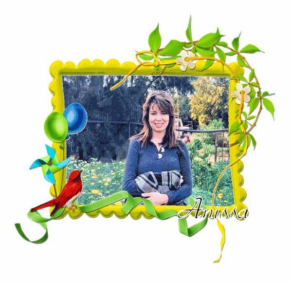 merci à Fatima pour ces jolies photos d'Anissa