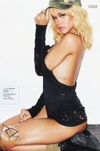 Photoshoot Rihanna Esquire UK
