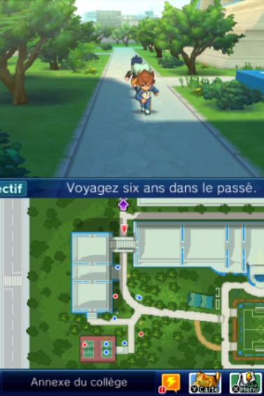Des screenshots d'IE Go Tonnerre en français ! Il sort à la fin du mois !