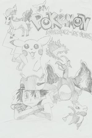 Quatre derniers dessins :) Enjoy !