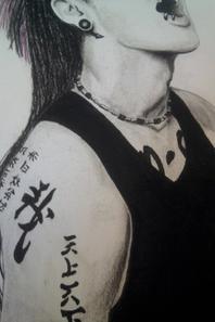 Dessin Miyavi + liste prévenus