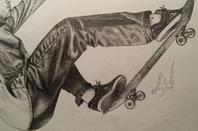 Skate draw !
