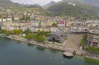 Plan aérien pour la société HIM à Montreux