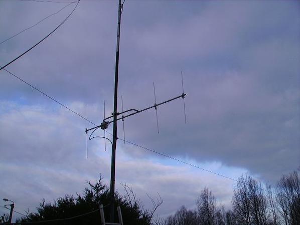 Antenne Yagi 144 Mhz  5 éléments