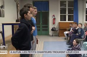 LE FEUILLETON : À Autun, les petits chanteurs trouvent leur voix en images (10/11)