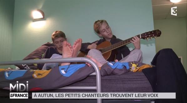LE FEUILLETON : À Autun, les petits chanteurs trouvent leur voix en images (11/11)