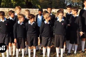 MAKING OFF - Les Petits Chanteurs: la séance photo l'album 2011 en images (2/2)