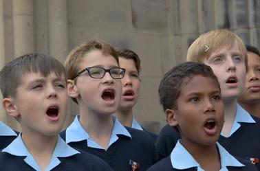 Concert Les Petits Chanteurs à la Croix de Bois à Epinal le 18 mars 2015