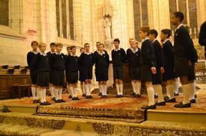 Beau concert ce soir à Chinon des Petits Chanteurs à la Croix de Bois