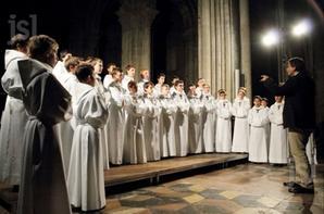La Maîtrise Saint-Charles recevait les Petits chanteurs à la croix de bois