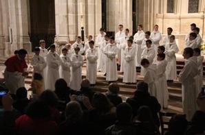 AUTUN : Envoûtante chorale des enfants de Saint-Jean-de-Damas