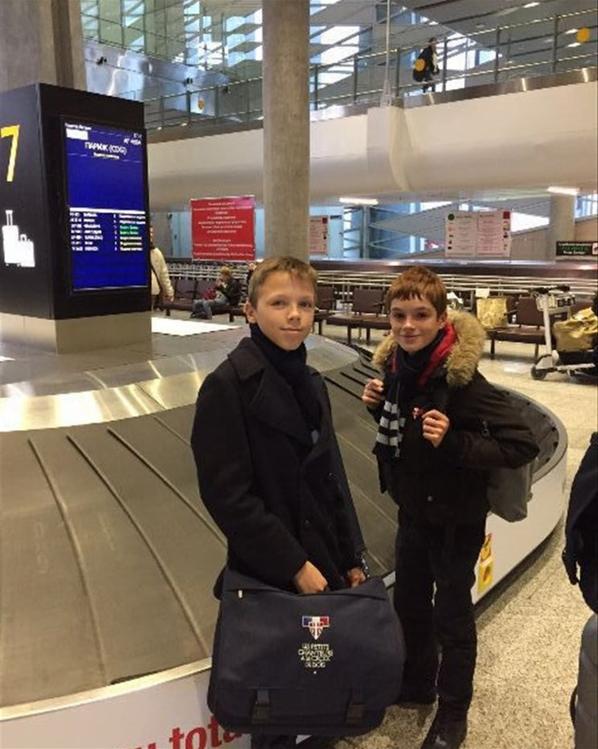 Les Petits Chanteurs à la Croix de Bois sont bien arrivés en Russie !