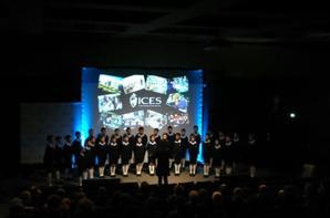 Les PCCB chantent à l'ICES