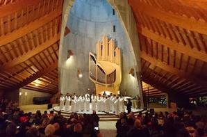 Concert exceptionnel des Petits Chanteurs à la Croix de Bois au Festival d'orgue de l'Alpe d'Huez !