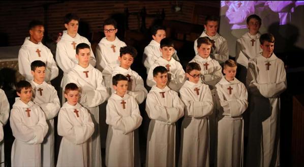 Une église Saint-Paul comble pour les Petits chanteurs à la croix de bois