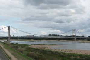 l'inauguration du pont d'ancenis  ce weekend après 3 ans de travaux