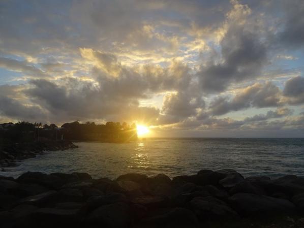 lever de soleil ce matin à st félix