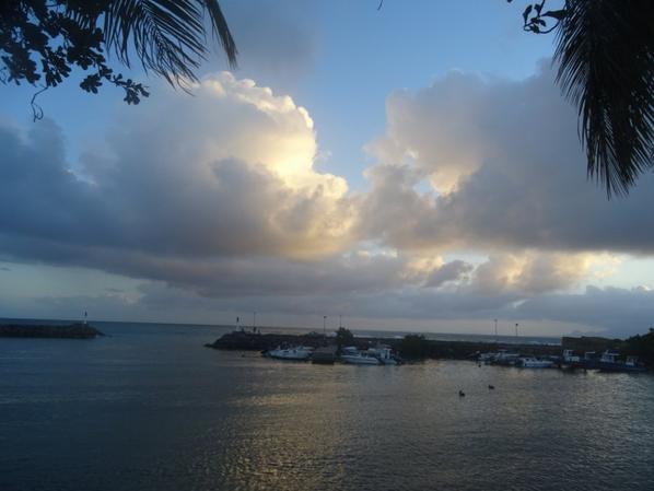 coucher de soleil à st félix