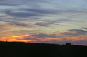 coucher de soleil du 10.03.2017