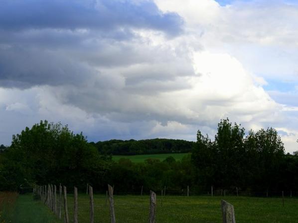 nuageux et pas chaud aujourd'hui