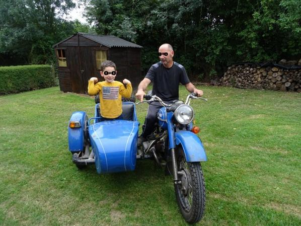 futur motard comme papy lol