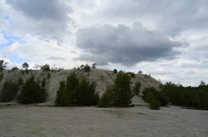 les mines d'étain d'abbaretz, jolie vue au bout des 205 marches