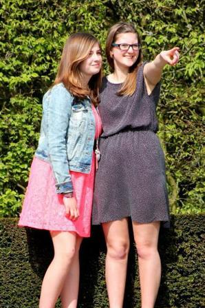 Séance photo avec la cousine.♥