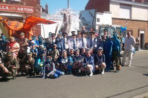 Défiler de la fête des Neuilles à Armentières , le 9 septembre 2012