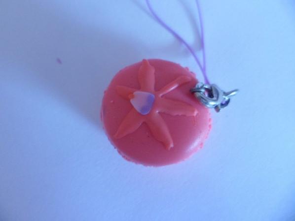 Macaron à la fraise