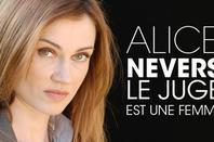 Fédora Alarson ( Tournage de la série Alice Nevers ) en cour
