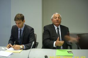 Reclassé(e)s de la poste et de télécom : 31 mai 2016 - L'intersyndicale reçue à l'Assemblée Nationale, par Henri Jibrayel, Marie Hélène Fabre et André Chassaigne
