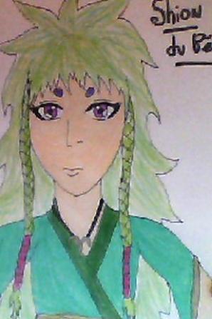 Je me demandé à quoi resemblé Shion à 13 ou 14 ans alors je l'ais déssiné ^^
