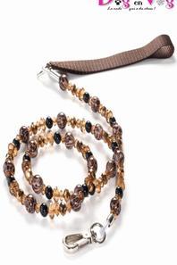 Nouveautés 2015 : Laisse en perles et cable acier inox