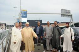 وصول وفد مغربي من الدعاة والأئمة  إلى مطار شخيبول بامستردام