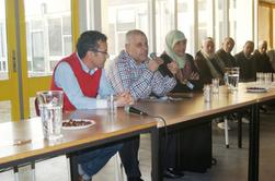 على هامش تأييد محكمة الاستيناف للمحكمة الابتدائية نظمت فيدرالية الجالية المغربية بهولندا