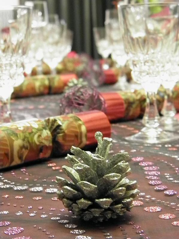 Décoration de table pours les fêtes