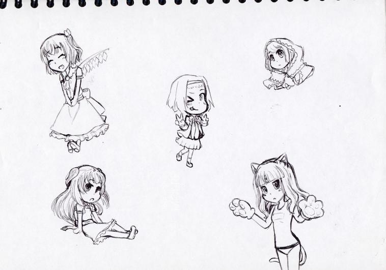 Vieux dessins #4