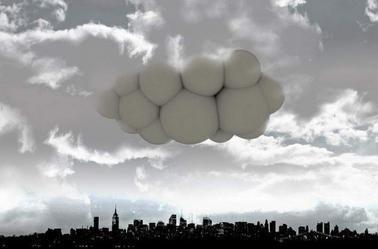 Passing Cloud concept