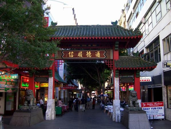 #ChinaWeek #China Town de Sydney #1