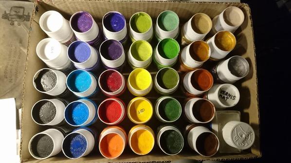 Tellement de couleurs ^^