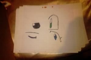 Petit dessin que j'ai fais Partie 1 dite m'en des nouvelle svp